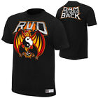 WWE ROB VAN DAM IT'S GOOD TO BE BACK OFFICIAL T-SHIRT ALL SIZES NEW