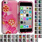 Design Color Hard Snap-On Rubberized Case Cover for Apple iPhone 5C Accessory