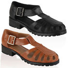 Ladies Faux Leather Womens Summer Cut Out Design Loafers Shoes Pumps Size 3-8