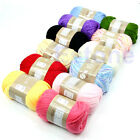 50g 1 Skein Natural Cotton Silk Baby Sweater Soft Yarn Knitting