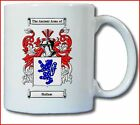 HALLAM COAT OF ARMS COFFEE MUG