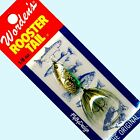 "NEW Rooster Tail Green Stonefly Spinner Lures - Choice Size/Quantity ""Old Stock"""