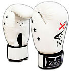 Junior Boxing Gloves Rex Leather gloves Punchbag Mitts Children / Kids 4,6,8 OZ