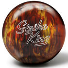 Brunswick Strike King Red/Gold Pearl Bowling Ball