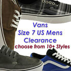 SIZE 7 US MENS VANS CLEARANCE SHOES/SNEAKERS/CASUAL/SKATE/FASHION EBAY AUS