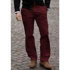 Brook Taverner - Daniel Chino New Range Of Stretch Trousers In Olive Green