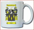 SALMON (ENGLISH) COAT OF ARMS COFFEE MUG