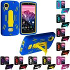 For LG Google Nexus 5 Hybrid Hard/Soft Heavy Duty Case Cover Skin with Stand