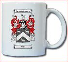 BATEY COAT OF ARMS COFFEE MUG