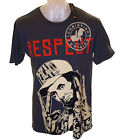 Bnwt Mens Christian Audigier Rhinestone Specialty Presidential Respect T Shirt