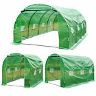 Dome Polytunnel Greenhouse Poly Tunnel Green House Fully Galvanized Frame New