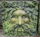 Large Green man Fountain mask decorative stone plaque or water feature 58cm/23""