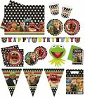 THE MUPPETS Birthday Party Range (Tableware & Decorations - Balloons & Banners)