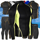 New Mens Compression Under Base Layer Gear Tight Wear Armour Shirt Pant Shorts