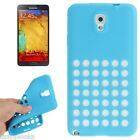 ULTRA THIN SILICONE TPU HOLE RETRO DOTS CASE COVER SAMSUNG GALAXY NOTE 3 N9000
