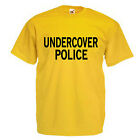 Undercover Police Adult T Shirt
