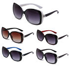 NEW Women Designer Pearl Oversized Vintage Square Retro Sunglasses IG9340 Multi