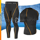New Mens Compression Under Base Layer Armour Wear Core Shirt Pant UITR03P06BO