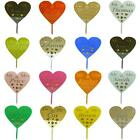 CLASSIKOOL ACRYLIC HEART MR & MRS PERSONALISED CAKE TOPPER WEDDING KEEPSAKE
