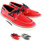 Kids Boys Sperry Halyard Boat Shoes Lace Up Leather Deck Shoes New UK Sizes 12-2