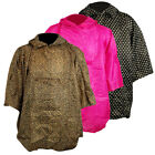 Ladies Womens Printed Hooded Fashion Poncho Waterproof Rain Jacket Coat Festival