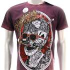 m187 Minute Mirth T-shirt Sz M L Tattoo LIMITED EDITION w/ BOX NIB Cotton Skull
