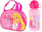 OFFICIAL BARBIE PURSE INSULATED LUNCH BAG, BOTTLE OR SET SCHOOL KIDS GIFT XMAS