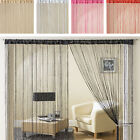 Glam Glitter Sparkle Lurex String Panel Screen Window Door Curtain 90x200cm