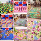 KIDS GAMES RUGS CHILDRENS ACTIVITY MATS INTERACTIVE MATS GIRLS BOYS PLAYROOM MAT