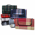 "New Large 59x51"" Outdoor Waterproof Picnic Blanket Beach Mat Camping Travel Rug"