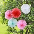 "25cm 10"" Honeycomb Paper Fan Wedding Party Home Favors Decoration Colours Pom"