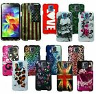 For Samsung Galaxy S5 i9600 Cover Design Hard Snap On Protective Shell Case