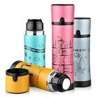 Office Bike Bicycle Stainless Steel Water Bottle Vacuum Thermos Flask 350/500ml