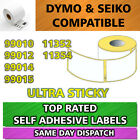 DYMO SEIKO COMPATIBLE LABELS 99010 99012 99014 3 5 10 20 50 100 200 ROLLS