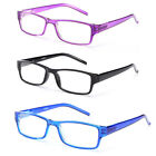 Clear Lens Fashion Spring Hinge Temple Eyeglasses Possible Rx CF1901 Multi Color