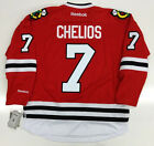 CHRIS CHELIOS CHICAGO BLACKHAWKS RBK JERSEY