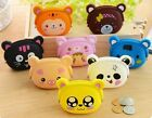 Cute Mini Candy Animal Shape Cartoon Silicone Coin Purse Cosmetic Bag Wallet