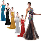 Graduation Sequins Ball Prom Sexy Bridesmaid Evening Long New Party Gown Dresses