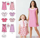 SEWING PATTERN Simplicity 2270 Girl's SHORT DRESSES CROPPED JACKETS & HANDBAGS
