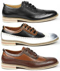 Ferro Aldo Men's Lace Up Wing Tip Dress Classic Oxford Shoes MFA-19278
