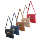 Ladies Womens Designer Cross Body Satchel Shoulder Handbag Office Messenger Bag