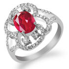 3.12 Ct Oval Natural Last Dance Pink Mystic Quartz 925 Sterling Silver Ring