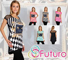 ♥ Exclusive High Quality Tunic Cat Eyes Motive ♥ Unique Pattern Lace Dress FC33