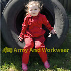 TUFF CHILDRENS KIDS VELCRO FRONT COVERALL OVERALLS BOILERSUIT JUMP BOYS GIRLS