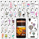 For ZTE Max N9520 Art Beautiful Design PATTERN HARD Case Phone Cover Accessory