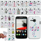 For Alcatel One Touch Evolve 5020T Art Design TPU SILICONE Case Phone Cover