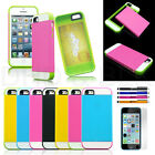 Heavy Duty Rugged Combo Hybrid Hard Case Cover For Apple iPhone 5C Stylus Screen