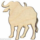 African Buffalo Unfinished Wood Shape AB4317 Crafts Lindahl Woodcrafts
