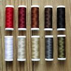 VERY STRONG LEATHER SEWING THREAD CHOICE OF COLOURS 120m