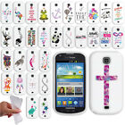 For Samsung Galaxy Stellar Jasper I200 Image TPU SILICONE Rubber Case Cover +Pen